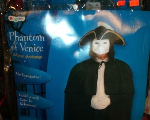 Toy - Phantom Venice cstuhe Co Incodaito! Full Lengi Cape n Nelveteen