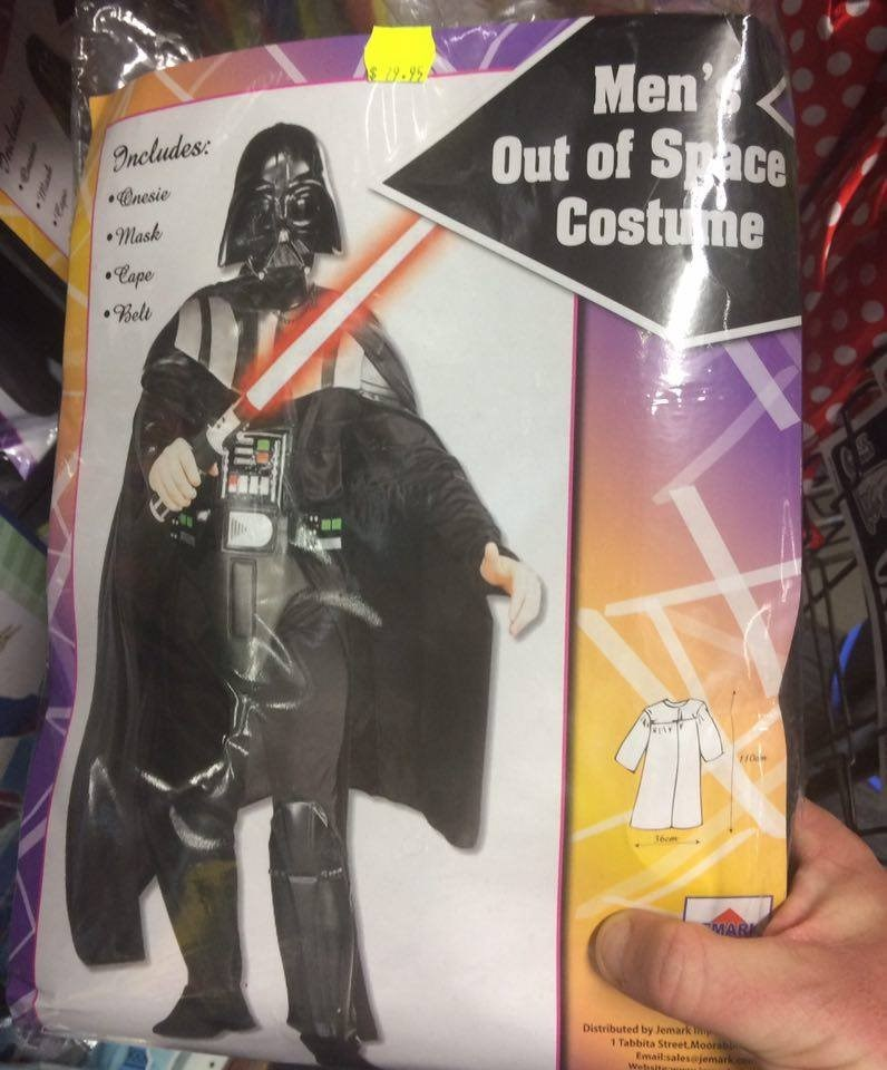 Action figure - Men Out of Space Costume Includes: Onesie Mask Cape Bell 1écm MARK Distributed by Jemark 1 Tabbita Street Moorab Emailsales@jemark Websita