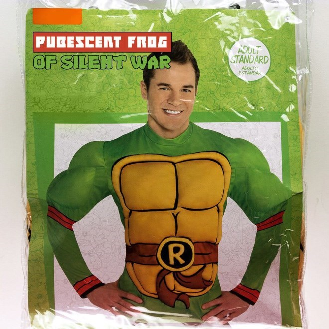 Superhero - PUBESCENT FROG ADULT STANDARD OF SILENT WAR ADULTC ESTANDA R)