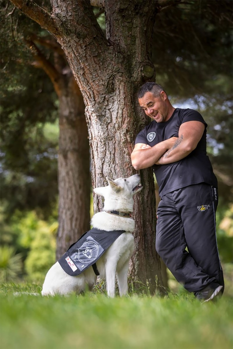 dog contest - People in nature - INVICTUS GAMES
