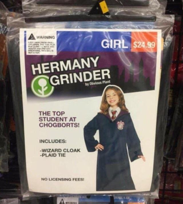 Outerwear - WARNING GIRL $24.99 EP WAY RO LREN NOVE AND MO HERMANY GRINDER by Obvious Plant THE TOP STUDENT AT CHOGBORTS! INCLUDES: WIZARD CLOAK -PLAID TIE NO LICENSING FEES