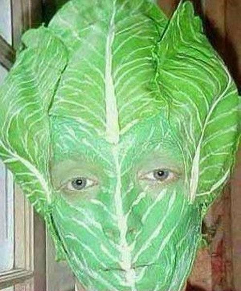cursed_image - lettuce head