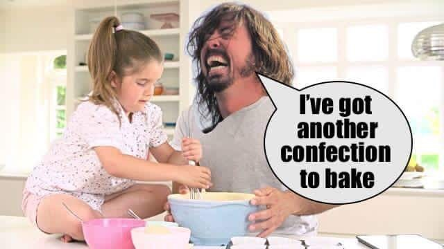humpday meme about Dave Grohl in the kitchen