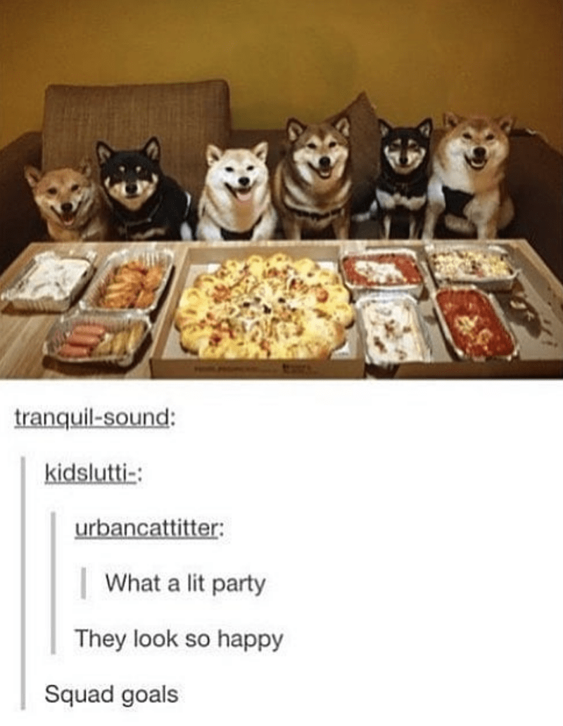 Food - tranquil-sound: kidslutti-: urbancattitter: | What a lit party They look so happy Squad goals