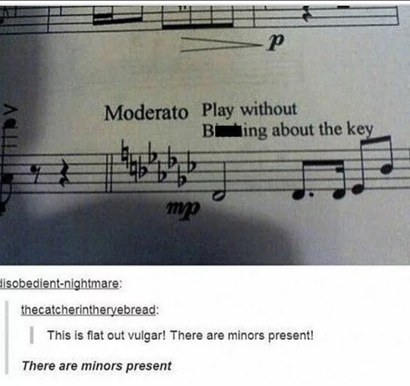 pun about musical notes