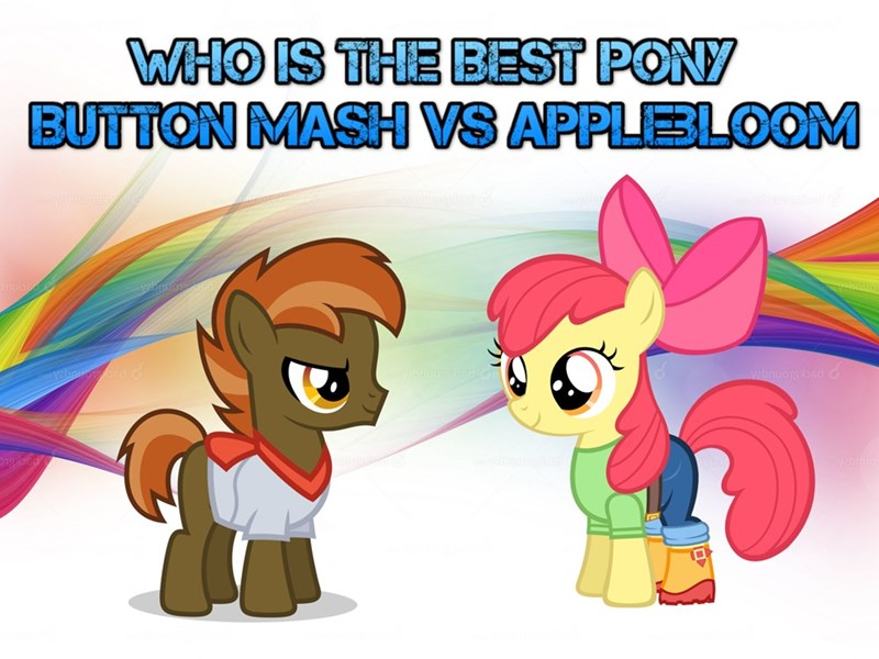 apple bloom best pony button mash - 9229447424