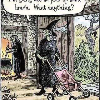 Cartoon - lunch. Want anything?