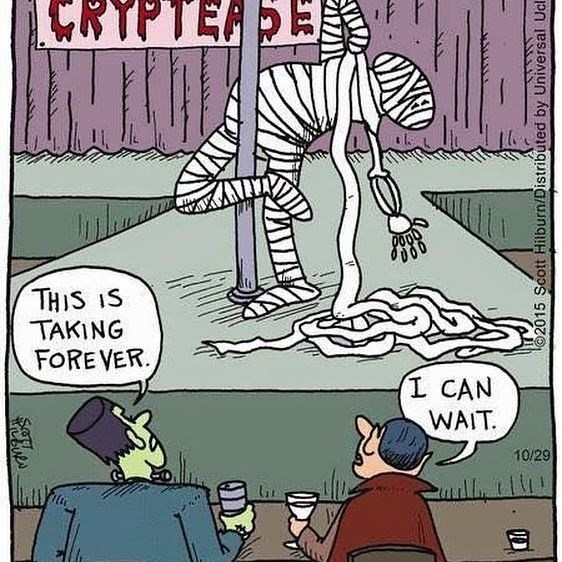 Cartoon - RYPTERE THIS IS TAKING FOREVER L CAN WAIT 10/29 2015 Scott Hilburn/Distributed by Universal Ucl