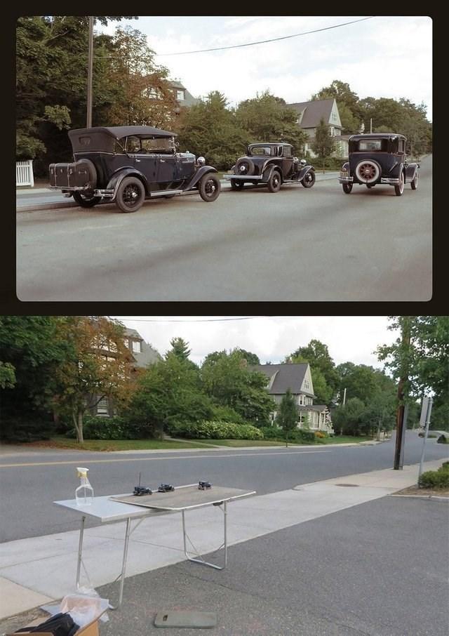 optical illusion - Motor vehicle