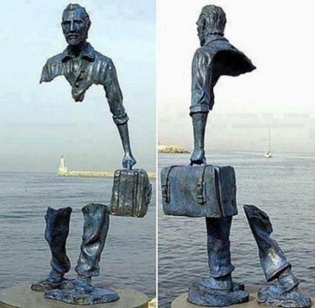 optical illusion - Sculpture