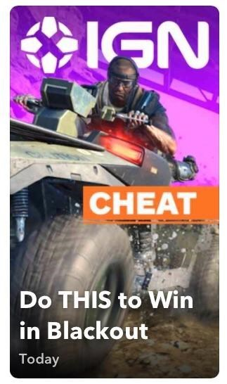 Poster - CHEAT Do THIS to Win in Blackout Today