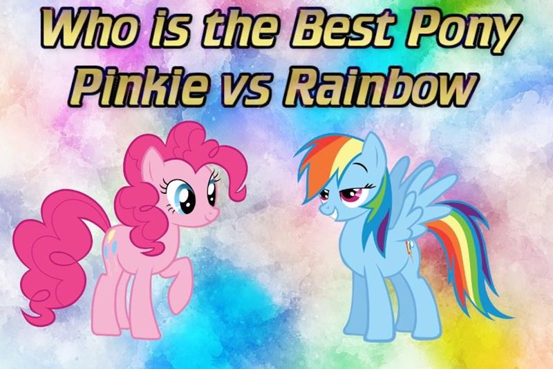 pinkie pie best pony rainbow dash - 9230607360