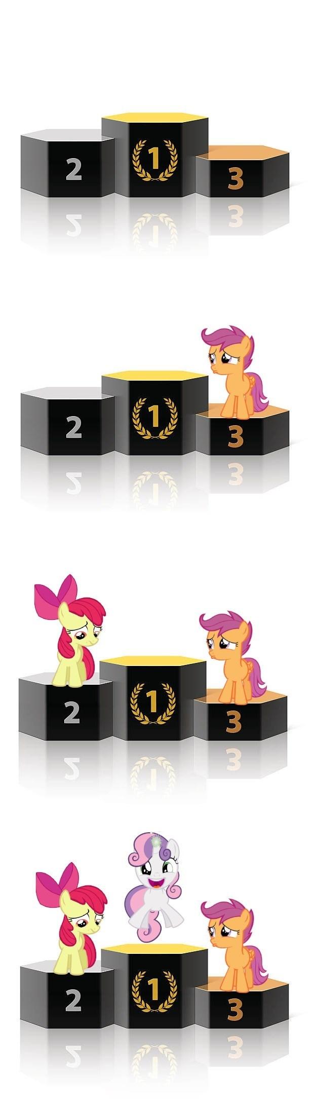 Sweetie Belle apple bloom best pony Scootaloo - 9230619136