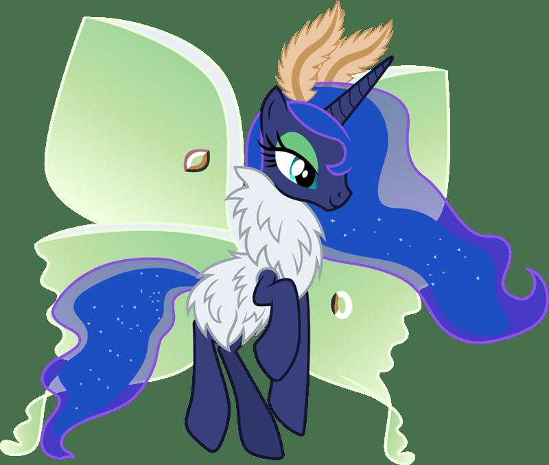 mothpony puns cloudy glow princess luna - 9230628608