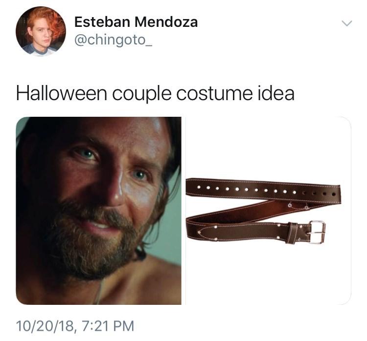 Facial hair - Esteban Mendoza @chingoto_ Halloween couple costume idea 10/20/18, 7:21 PM