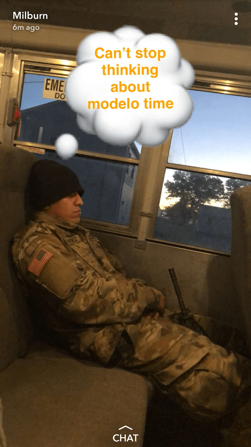 Soldier - Milburn 6m ago Can't stop thinking about EME DO modelo time AUEZ CHAT