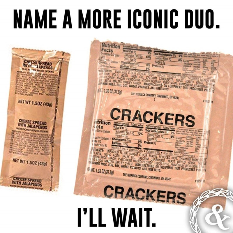 Font - NAME A MORE ICONIC DUO. Nutrition Facts Sarving Size 2 C plars Amount/servirg 9% loweDecnding on your caone r 4% Ft 9% Total Carbohydrate 2 Dietary Fiber 1 Sugars 0g 0% Protein 3 5% Total Fat 6g Saturated Fat 2.5g 13% Trans Fat O Pe Container 1 Cholesterol Omg Sodium 115mg Calores Less than 65 2.000 2.500 Saurated Fat Less han Less tham Len Total Carbot e Detary Foer 20 250 30mg 30 20g 2400m Choester Sodum Sar Carones 1 Ds m Fat 50 CHFESE SPREAD TALZAPENOS iOn rOPENG NEVD REDENTS ENRICHED
