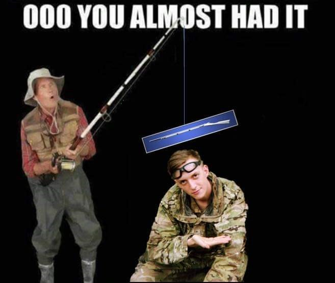Soldier - 000 YOU ALMOST HAD IT