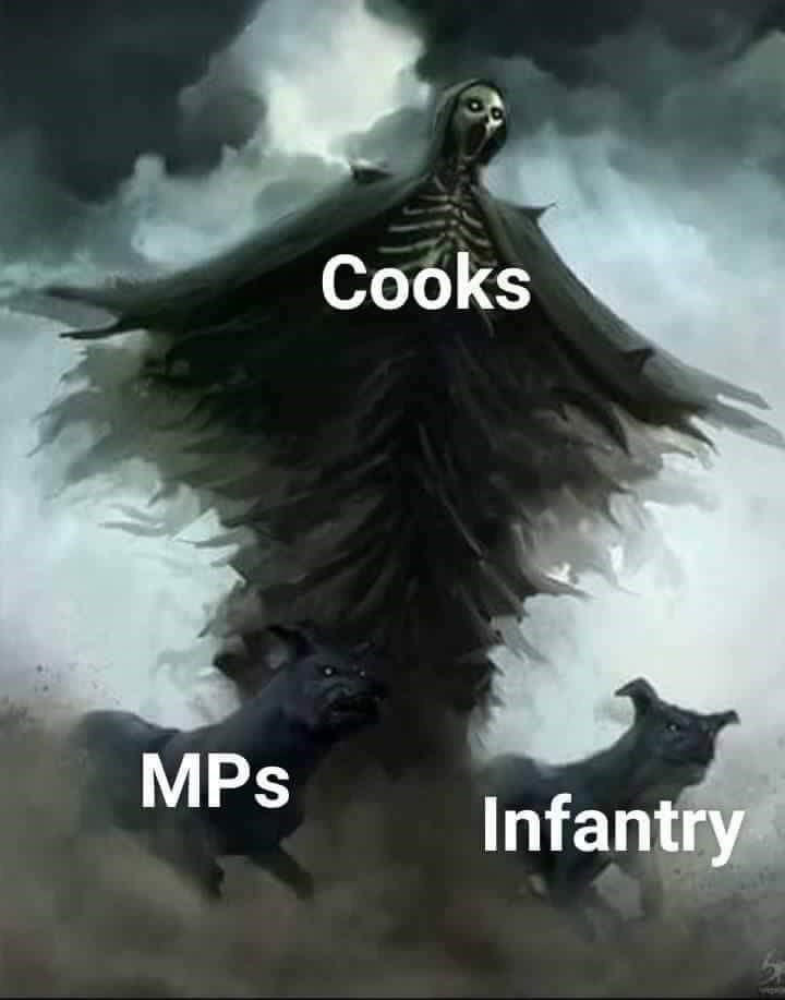 Wing - Cooks MPs Infantry