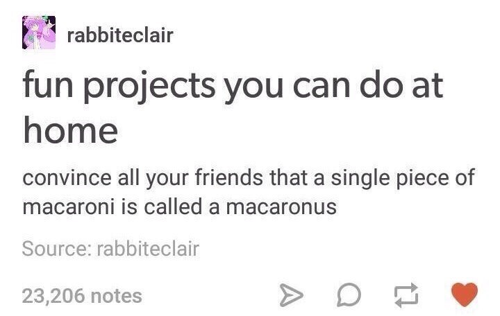 stupid meme about giving macaroni a new name