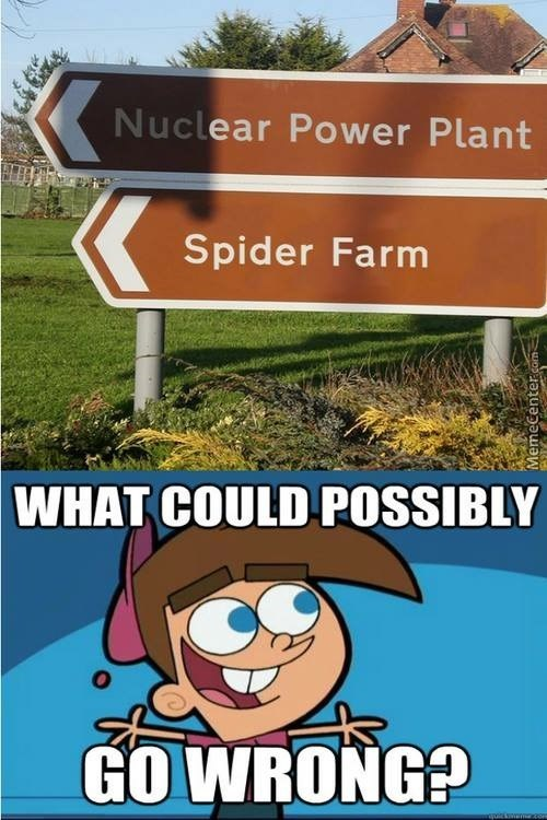 stupid meme or a nuclear power plant and the fairly odd parents