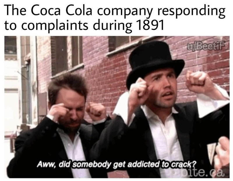 Photograph - The Coca Cola company responding to complaints during 1891 u/BeetiF Aww, did somebody get addicted to crack? Dite.ca