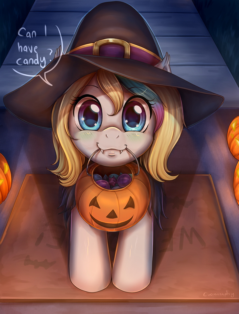 evomanaphy OC halloween nightmare night - 9231679744