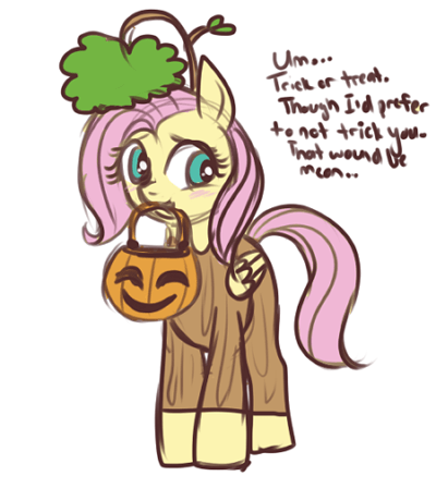 lulubellct halloween nightmare night fluttershy firsuit - 9231681024