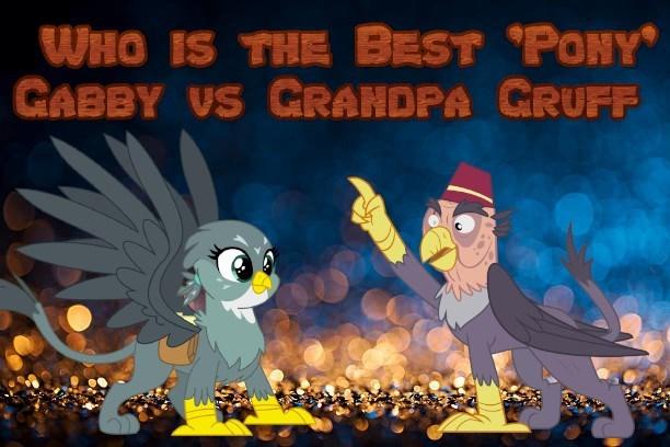 gabby grandpa gruff best pony - 9232140288