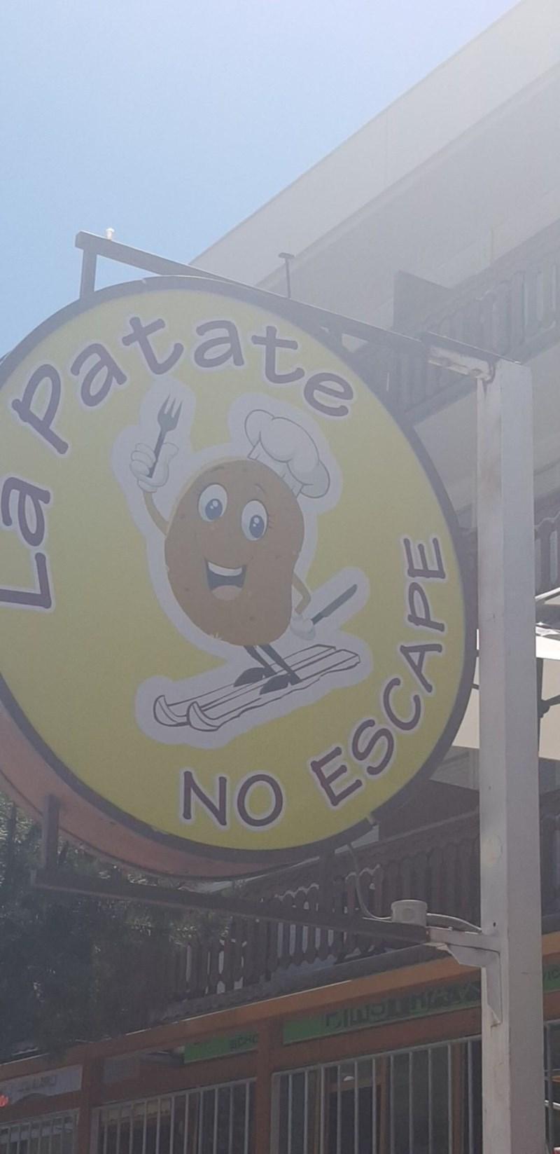 Signage - Pavate NO ESC