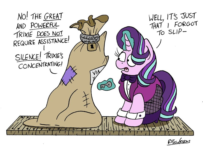 the great and powerful trixie bob the dalek starlight glimmer - 9232716288