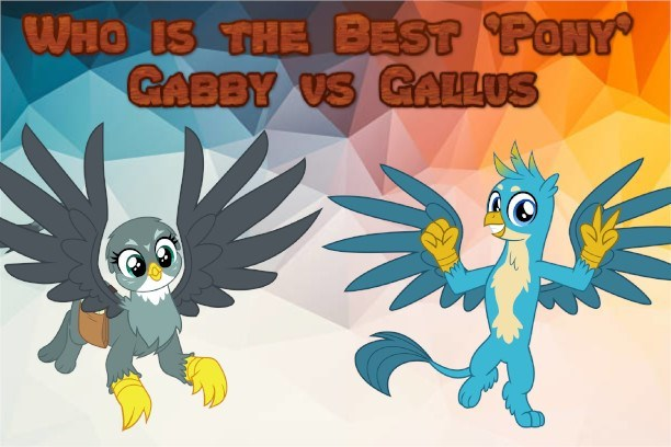 gabby griffon gallus best pony - 9233151232