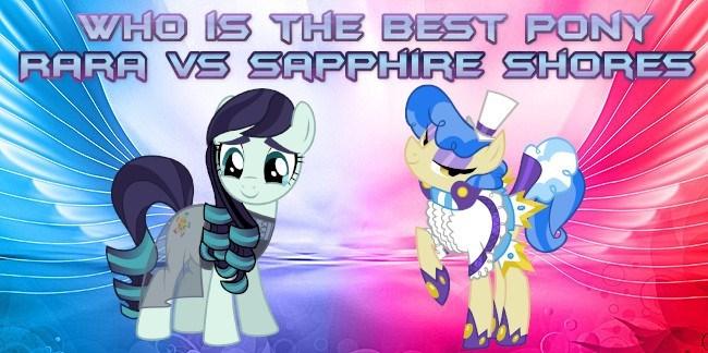 coloratura sapphire shores best pony - 9233340672