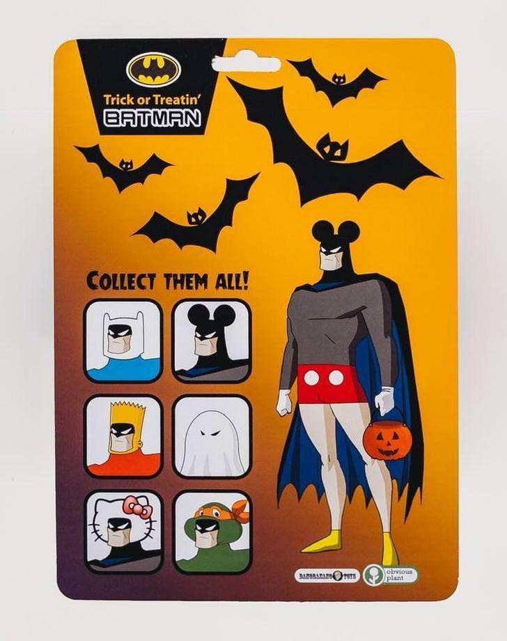 Batman - Trick or Treatin BATMAN COLLECT THEM ALL! DARAR TS plant STOTAgO