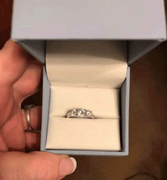the ring she posted online for shaming that she found in BF nightstand