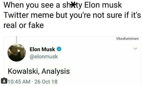 meme about elon musk finding bad twitter memes