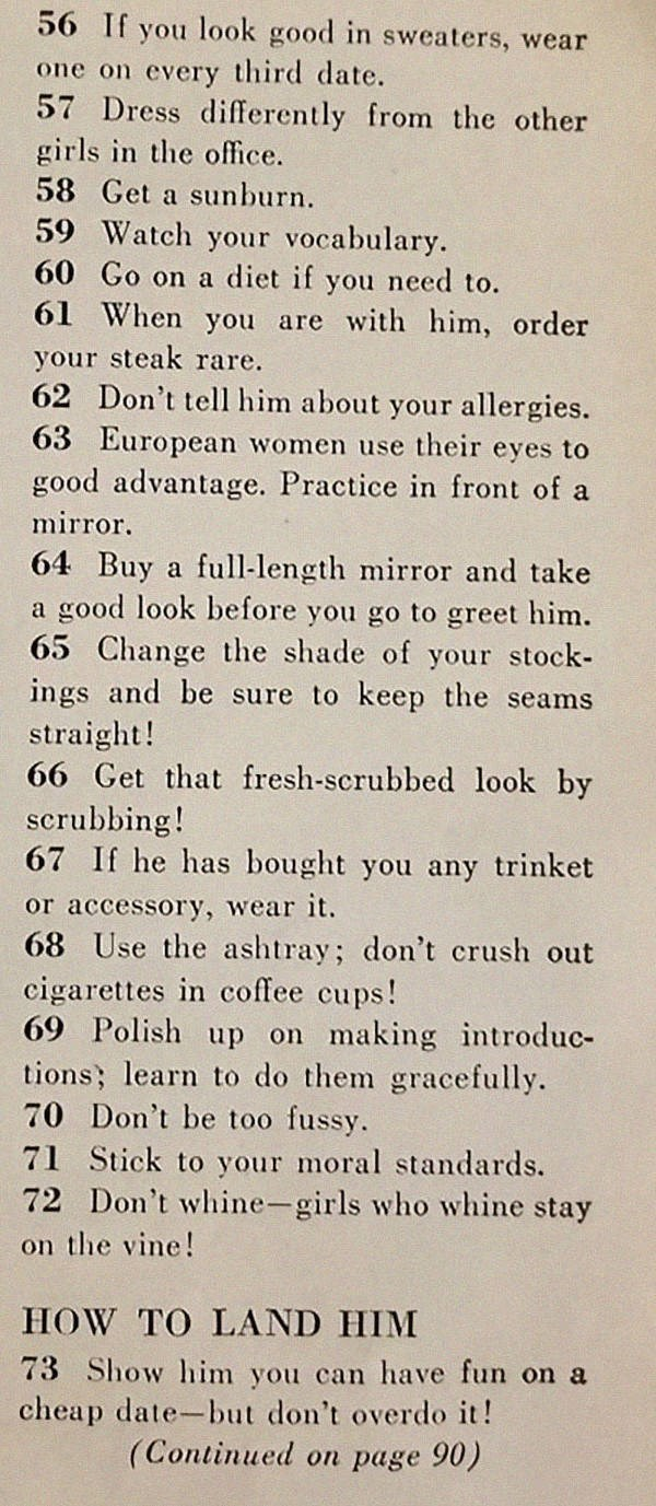 text on how to beautify yourself for husband hunting