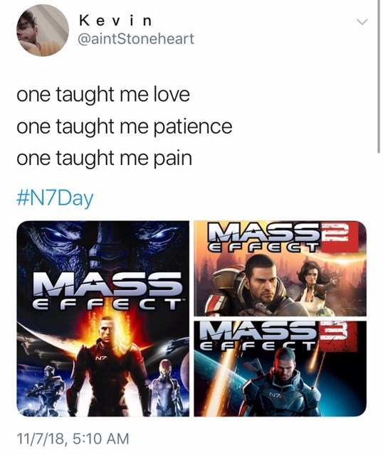 thank you, next meme about mass effect video game by: @aintStoneheart