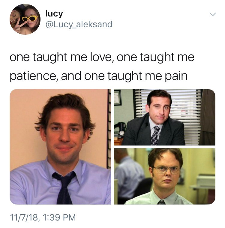 thank you, next meme about Jim, Michael and Dwight from the office. by: @Lucy_aleksand 4m6c9hx