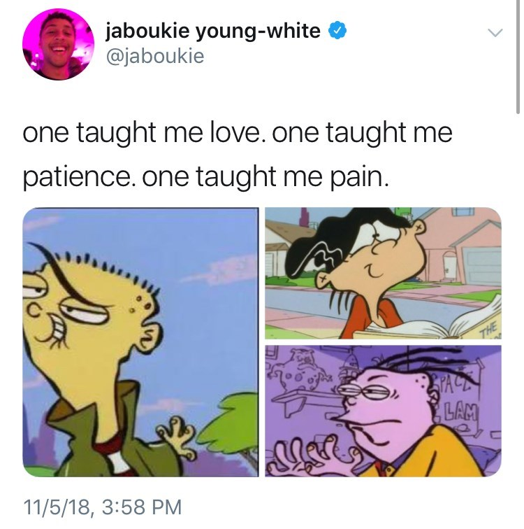 thank you, next meme about Ed, Edd N Eddy by: @jaboukie