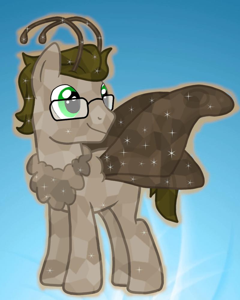 tineid crystal pony moth pony - 9234530816