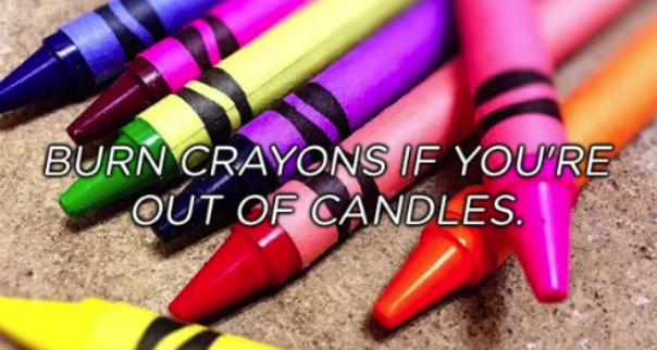 Pink - BURN CRAYONS IF YOU'RE OUT OF CANDLES