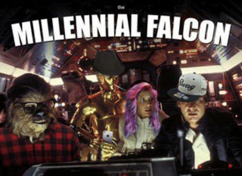 falcon that explains the problems that millenials face