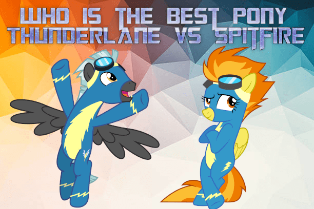 spitfire thunderlane best pony - 9234941696