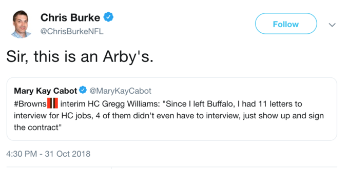 Sir this is an Arby's