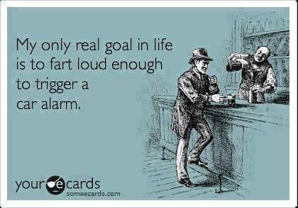 ecard about having strange goals in life