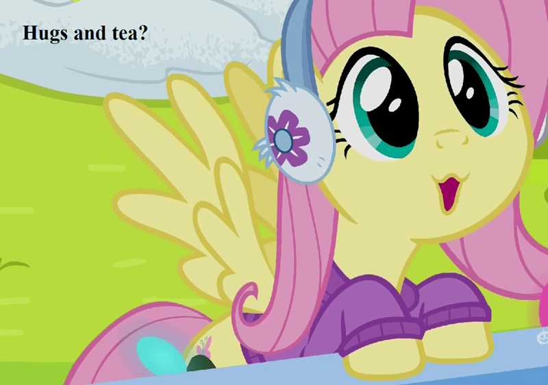 screencap fluttershy best gift ever - 9235399680