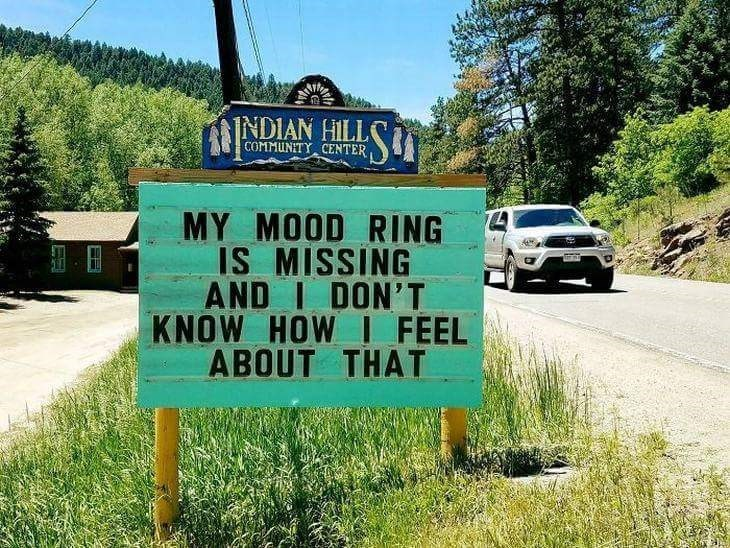 Motor vehicle - NDIAN HILL COMMUNITYCENTER MY MOOD RING IS MISSING AND I DON'T KNOW HOW I FEEL ABOUT THAT