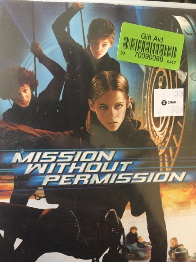 """Mission Without Permission"" the UK version of ""Catch That Kid"""