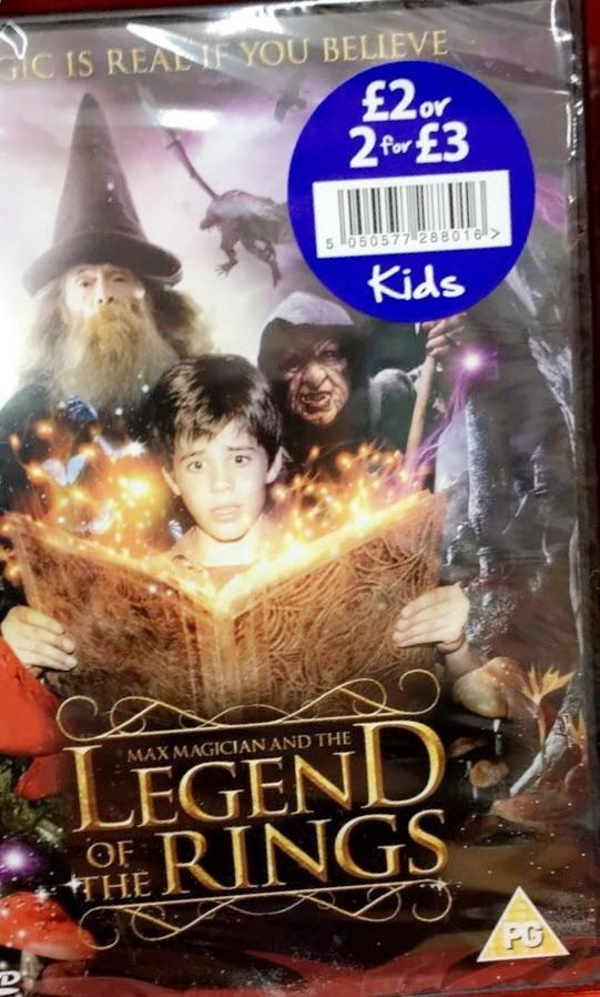 Harry Potter and Lord of the Rings movie knockoff